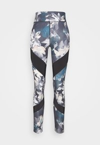 Even&Odd active - Leggings - light blue/multi-coloured - 4