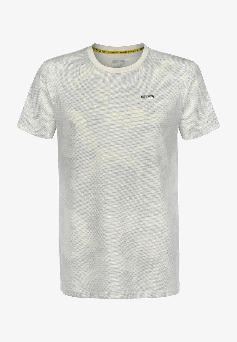 ASICS SportStyle - T-shirt imprimé - cream