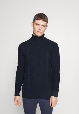 TERENCE TURTLE NECK - Neule - insignia blue