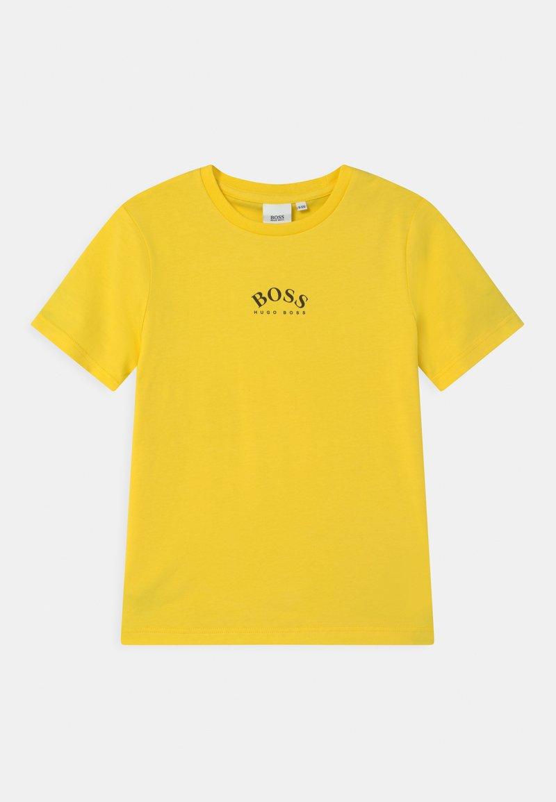 BOSS - SHORT SLEEVES - Print T-shirt - sun
