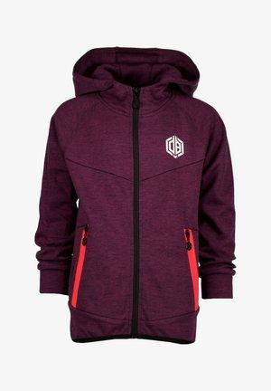 OSANTOS - Zip-up sweatshirt - maroon red