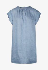 Apart - LINEN DRESS - Vestito estivo - lightblue - 4