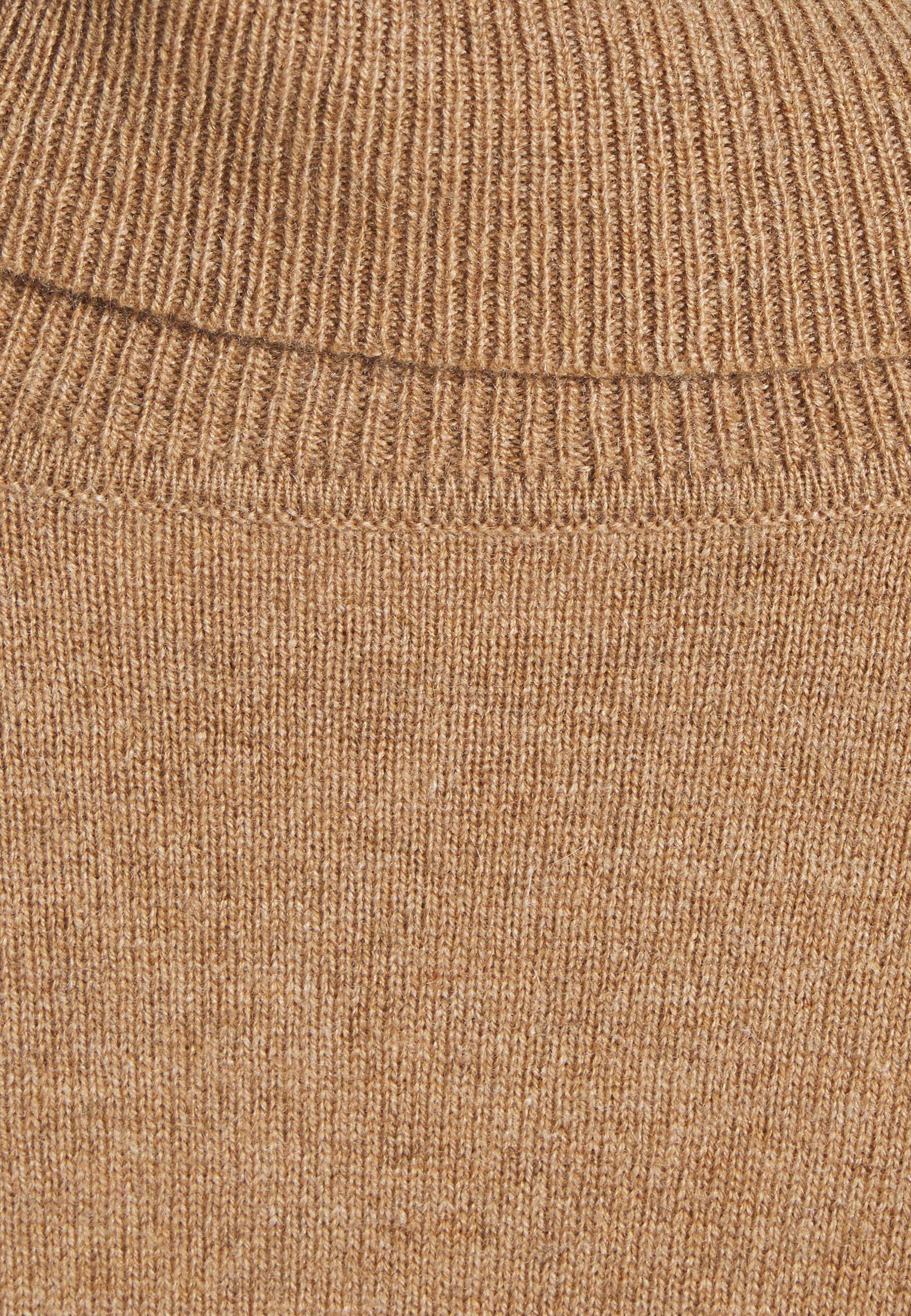 pure cashmere TURTLENECK - Pullover - dark beige