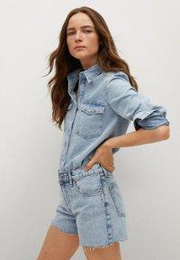 Mango - HAILEY - Szorty jeansowe - bleu clair - 4
