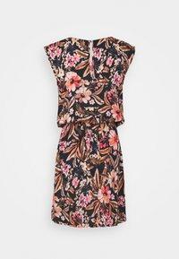 LASCANA - BEACH DRESS - Day dress - schwarz/apricot - 6