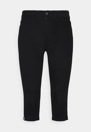 JDYNIKKI LIFE MIX - Denim shorts - black denim