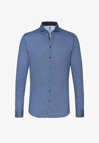 DESOTO - NEW HAI  - Formal shirt - blue white dots - 3