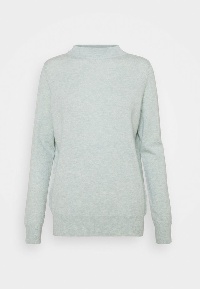 FUNNEL NECK - Jumper - light green