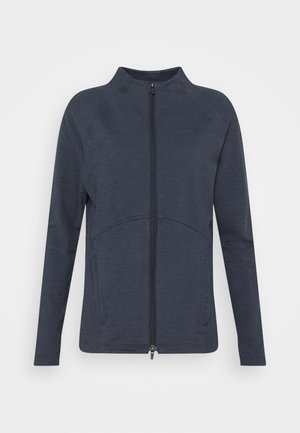 CLOUDSPUN FULL ZIP - Zip-up hoodie - navy blazer heather