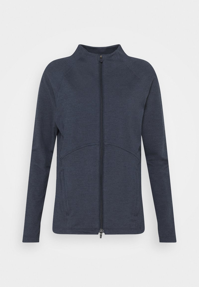 Puma Golf - CLOUDSPUN FULL ZIP - Zip-up hoodie - navy blazer heather