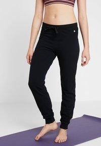 Deha - PANTALONE IN FELPA - Pantalon de survêtement - black - 0