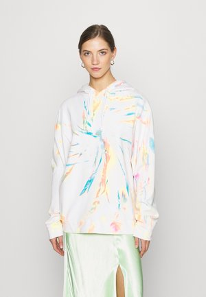 RAINBOW TIEDYE HOODIE - Jersey con capucha - multi