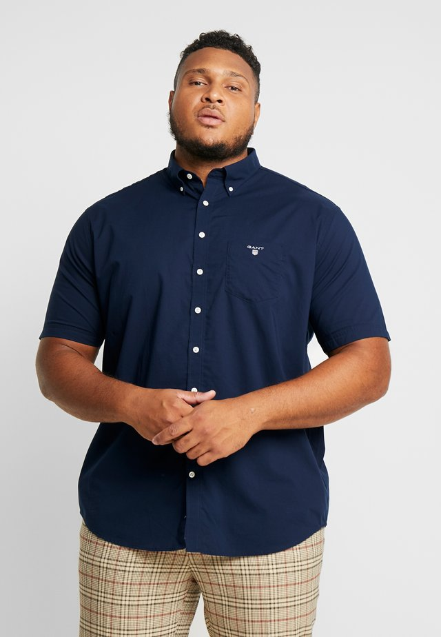 PLUS THE BROADCLOTH - Camisa - marine