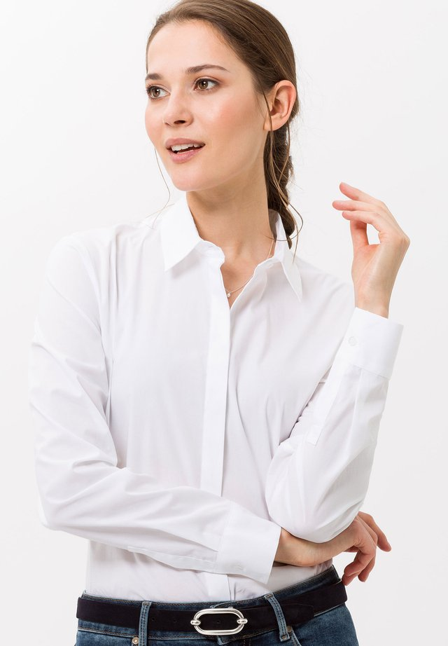 STYLE VICTORIA - Overhemdblouse - white