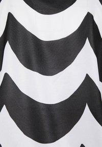 adidas Performance - MARIMEKKO TEE - Sportshirt - black/white - 2