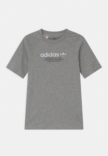 UNISEX - Print T-shirt - medium grey heather