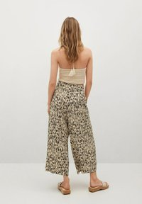 Mango - Trousers - beige - 2