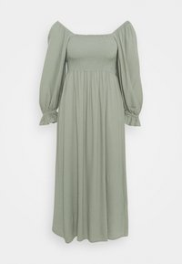 Bruuns Bazaar - LILLI SASANE DRESS - Day dress - seagrass - 0