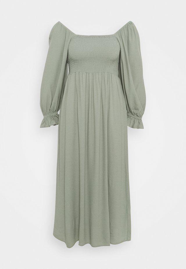 LILLI SASANE DRESS - Korte jurk - seagrass