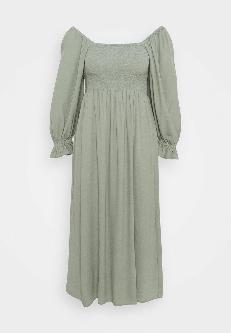 Bruuns Bazaar - LILLI SASANE DRESS - Day dress - seagrass