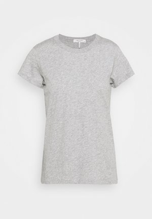 THE SLUB TEE - Jednoduché triko - heather grey