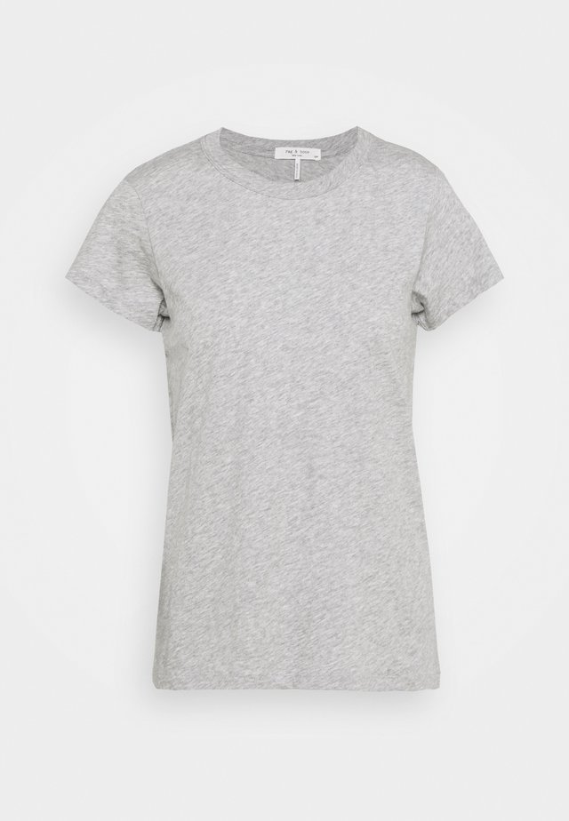 THE SLUB TEE - T-shirt - bas - heather grey