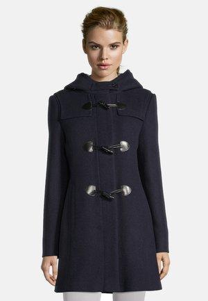 MIT KAPUZE - Short coat - dunkelblau