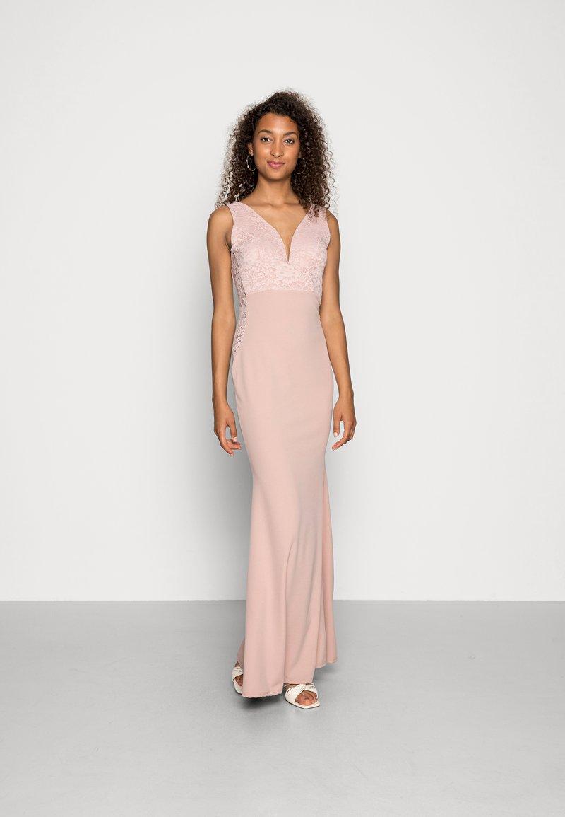 WAL G. - JOSEPHINE DRESS - Společenské šaty - blush pink