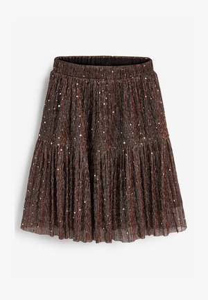 SPARKLE TIERED - A-Linien-Rock - brown