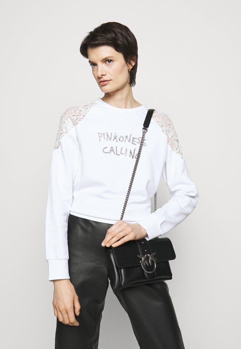 Pinko - LOVE MINI SOFT SIMPLY - Across body bag - black
