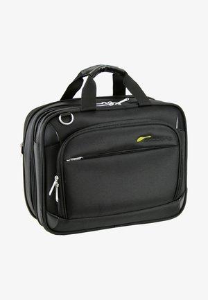 COCOONO DRIVE FLUGTASCHE AKTENTASCHE 39 CM LAPTOPFACH - Briefcase - black