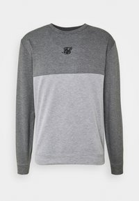 SIKSILK - ARC TECH FADE CREW - Sweater - grey marl - 4