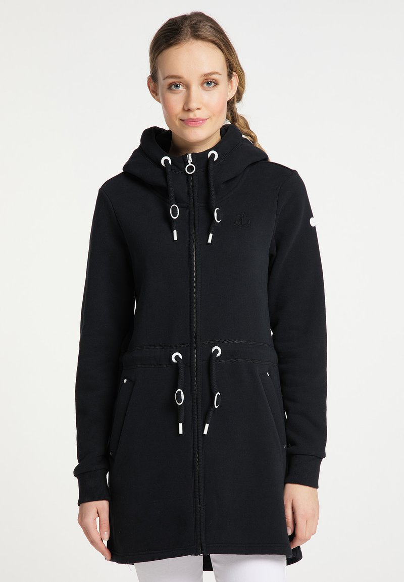 DreiMaster - Zip-up sweatshirt - schwarz