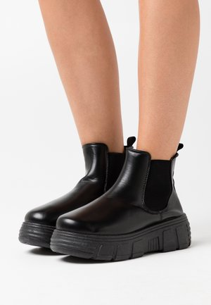 VEGAN CHELSEA - Ankle boots - black