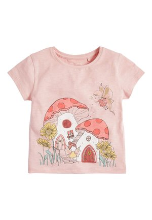 PINK INTERACTIVE FAIRY T-SHIRT (3MTHS-7YRS) - Print T-shirt - pink