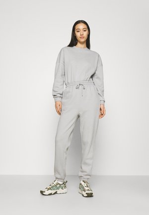 SWEAT - Oversized comfy - Jumpsuit - light grey