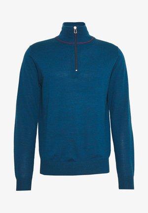 MENS ZIP NECK - Jumper - blue