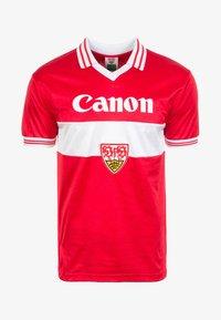 Scoredraw - VFB STUTTGART AWAY 1980 - Vereinsmannschaften - red - 0
