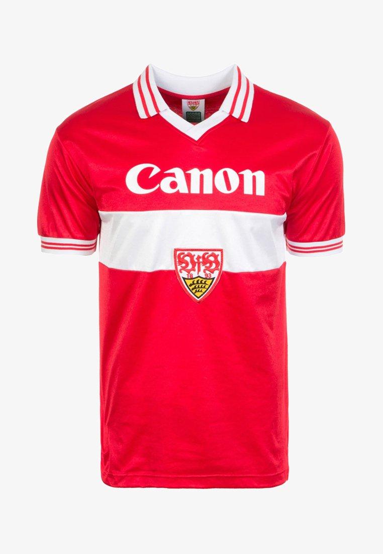 Scoredraw - VFB STUTTGART AWAY 1980 - Vereinsmannschaften - red