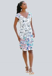Alba Moda - Shift dress - weiss-bunt - 1