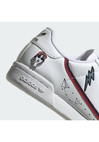 adidas Originals - CONTINENTAL 80 SHOES - Trainers - ftwr white/collegiate navy/scarlet - 6