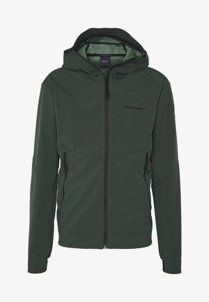 ADVENTURE HOOD JACKET - Outdoor jacket - drift green