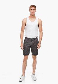 Q/S designed by - BERMUDA  - Shorts - dark shadow - 1