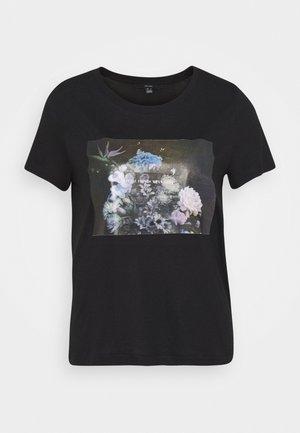 VMNELLFRANCIS BOX - Camiseta estampada - black