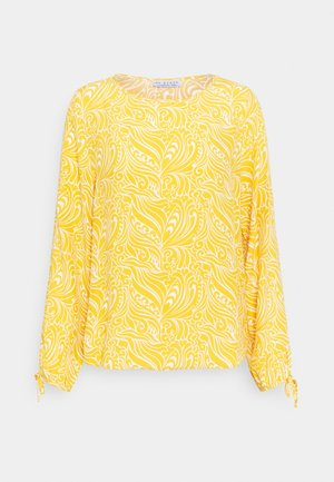 BLOUSE WITH SLEEVEDETAIL - Blouse - sunflower