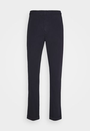 ELASTICATED WAIST TROUSER - Chinos - dark blue