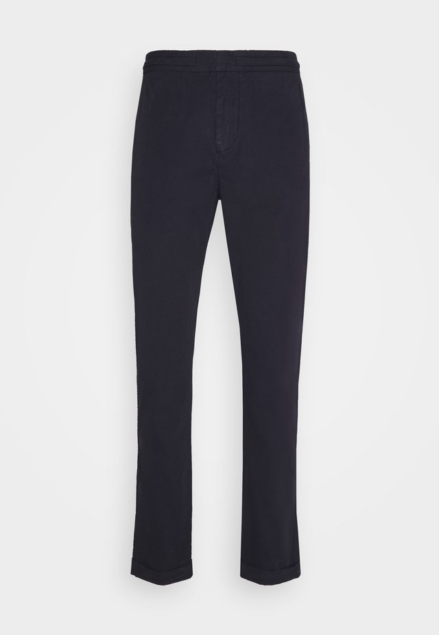 ELASTICATED WAIST TROUSER - Chino - dark blue