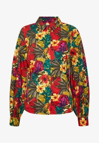 STELLAGZ SHIRT  - Button-down blouse - tropical yellow