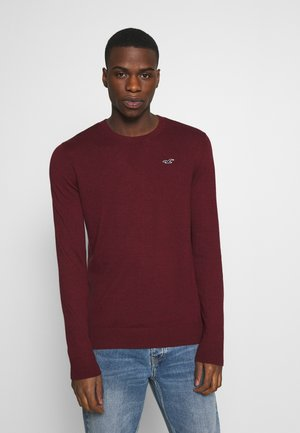 CORE CREW - Pullover - dark red