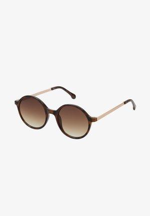 MADISON  - Sunglasses - tortoise/rose gold-coloured